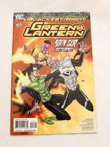Green Lantern #47 NM Blackest Night Abin Sur Returns  Johns Alamy DC Comics - $9.90