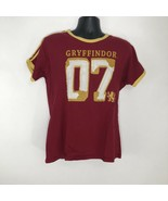 The Wizarding World of Harry Potter Gryffindor Quidditch Jersey Shirt - ... - $16.48