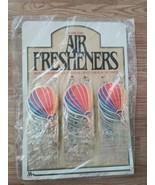 Vintage 1980's Hot Air Ballon Air Freshener Store Display Card 24 pcs. t... - $59.99