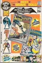 Super DC Giant Comic Book #16 The Brave and The Bold DC Comics 1970 VERY... - $28.92