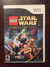 LEGO Star Wars: The Complete Saga (Nintendo Wii, 2007) Video Game Complete - $16.88