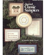 Charted Classic Samplers LA161 Cross Stitch Pattern Leaflet - $2.67