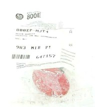 NEW ALLEN BRADLEY 800EP-MJT4 MUSHROOM PUSH-PULL BUTTON SER. A RED image 1