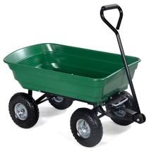 650 Lbs Garden Dump Cart Dumper Wagon Carrier - $83.99