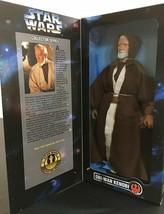 "1996 STAR WARS Collector Series OBI-Wan Kenobi 12"" Action Figure MIB - $19.79"