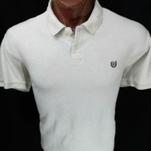 Lot of 3 Ralph Lauren Chaps Men's Gray Yellow Cream Polo Shirt 2XL XXL - $40.41