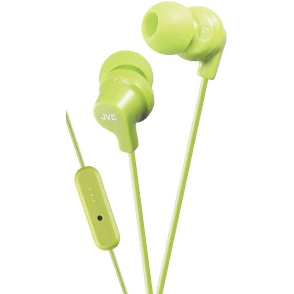 Primary image for JVC HAFR15G In-Ear Headphones with Microphone (Green)