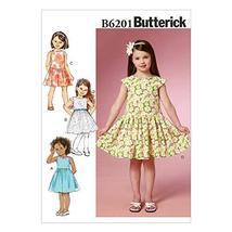 Butterick Patterns B6201CL0 Children's/Girls Dress, CL (6-7-8) - $12.86