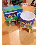 """Ganz  unique """" I got a hole in one """" coffee mug for that golfer NEW - $10.88"""