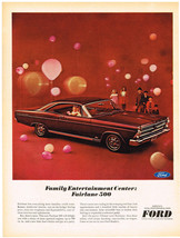 Vintage 1968 Magazine Ad Ford Fairlane Choice Of 3 Engines & Look Thats ... - $5.93