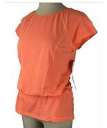Lucy Speed Seeker Singlet Athletic Yoga Top Medium Orange Vented NWT Nor... - $29.65