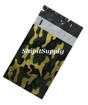 2.5 Mil 1-1000 6x9 ( Camo ) Color Camouflage Poly Mailers Designer Bags - $0.98+