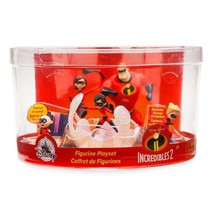 Disney Store The Incredibles Fold-up Illustrated Play Mat Play Set New w... - $19.83