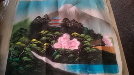 Asian Tapestry Mountain Scene - $45.00