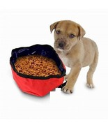 Portable Travel Pet Nylon Food and Water Dog Bowl  / 48 Pieces - $94.99