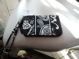 Vera Bradley zip around wristlet  in MIdnight Paisley pattern  - $21.00