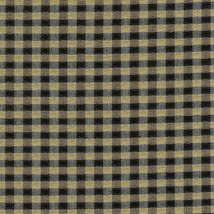 Longaberger Large Foyer Basket Khaki Check Fabric Over Edge Liner Only New - $11.83