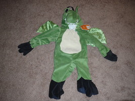 Infant Lizard Dinosaur Dragon with Wings Halloween Costume 3-D 0-9 Months - €8,85 EUR