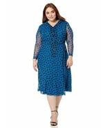 Anne Klein Women'S Size Plus Long Sleeve Button Down Dress - $61.70+