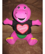 "BARNEY BEST FRIENDS SHIRT PRE-PRODUCTION SAMPLE New Plush 11"" RARE PROMO... - $79.99"