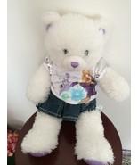 Build a Bear White Plush  Hanna Montana shirt Plush stuffed 18 inches - $33.66