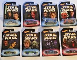 2017 Hot Wheels Disney's Star Wars Mattel Exclusive Set Of 8 - VTHF NEW ... - $23.75