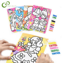 JOKEJOLLY 5pcs/lot Children Drawing Sand Painting Pictures - $16.11+