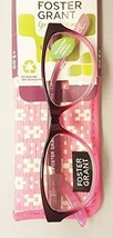 Foster Grant MAVIS Women's Reading Glasses DARK PINK +2.50 - $19.99