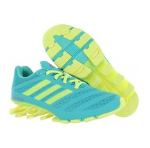 New Girls adidas SpringBlade Ignite Athletic Running Shoes Size 7Y Vivid... - $60.00