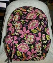 Vera Bradley Laptop backpack in Pirouette Pink pattern - $66.00