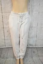 DKNY Sport  Logo Joggers Size M White - $33.65