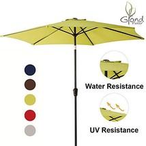 Grand Patio 9 FT Aluminum Patio Umbrella, UV Protected Outdoor Umbrella ... - £32.56 GBP