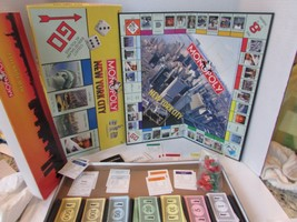Vtg 2001 Parker Brothers Monopoly Board Game Incomplete Use For Parts - $4.85
