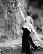 Anita Ekberg 16x20 Poster classic in water in Trevi Fountain Rome La Dolce Vita - $19.99