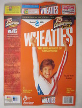 MT WHEATIES Box 1999 18oz MARY LOU RETTON Gymnastics [Z202a4] - $16.24