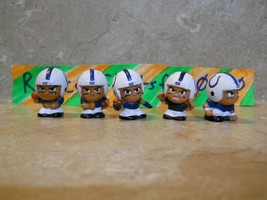 INDIANAPOLIS COLTS TEENYMATES RARE SERIES 1, 2, 3, 4, & 5 TEAM SET HARD ... - $16.42