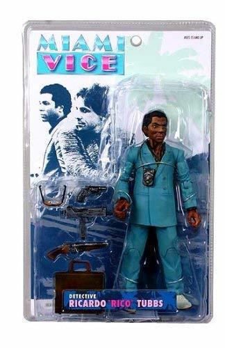 "Miami Vice TV Ricardo ""Rico"" Tubbs Action Figure (Teal Suit)"