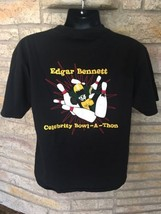 Edgar Bennett Benefit Celebrity Bowl-A-Thon T Shirt GREEN BAY PACKERS NF... - $24.12