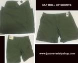 Gap roll up shorts green web collage thumb155 crop