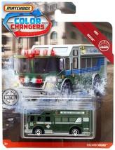 Matchbox Color Changers MBX Rescue Hazard Squad Diecast Vehicle - $12.51