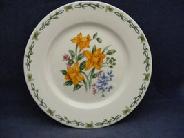 "Thomson Floral Garden 7.5"" Salad Plate Yellow Daffodil Flowers - $9.95"