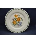 """Thomson Floral Garden 7.5"""" Salad Plate Yellow Daffodil Flowers - $9.95"""