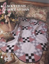Jacks Chain Quilt Afghan, Annie's Attic Crochet Pattern Club Leaflet QAC325-05  - $3.95