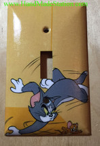 Tom and Jerry Cartoon Light Switch Power Outlet Cover wall Plate Home Decor