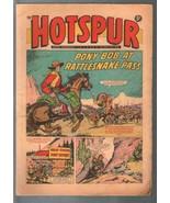 Hotspur #501 5/24/1969-D.C. Thompson-tabloid format-comic thrills-VG - $31.53