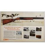 1968 Print Ad Garcia Beretta BL Over-Under 12 Gauge Shotguns Geese Teane... - $16.81
