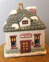 "Vintage Inn Bell Ceramic Ornament 3 x 2 x 2.5"" Hand Painted - $13.00"