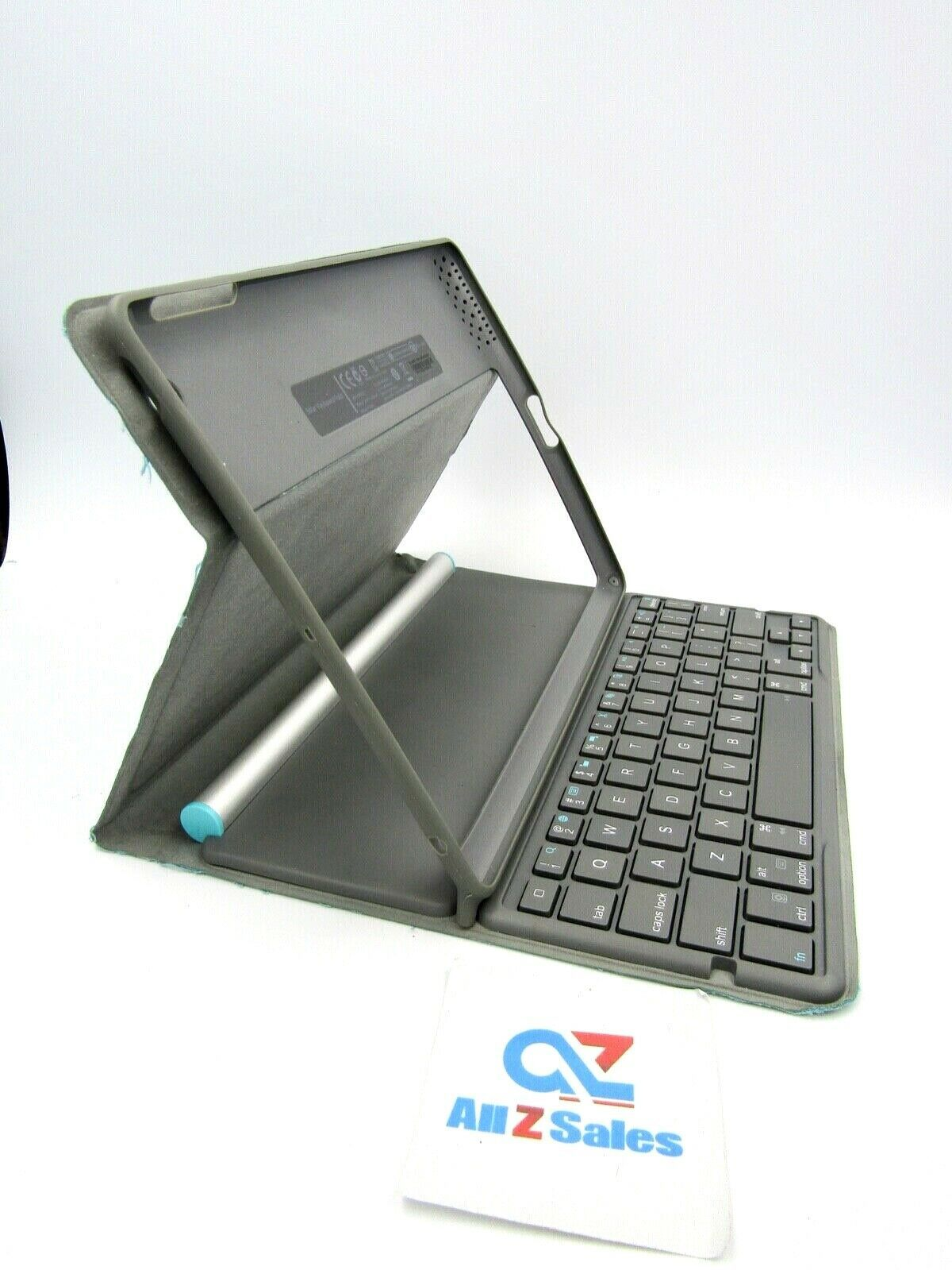 Primary image for Logitech Y-R0027 Solar Keyboard Folio for iPad 2/3/4 - Ice Blue - USED