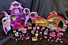 My Little Pony Ponyville Rainbow Dash's, Birthday Afternoon & Teapot Pal... - $60.00