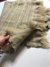 "PENDLETON Blanket Vintage 100% Virgin Wool USA 36""X 48"" - $74.79"